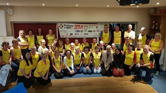 Pudsey 10k: More than £20,000 raised for Marie Curie