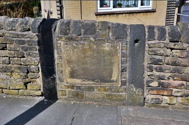 blackett lane calverley plaque