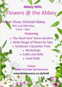 kirkstall abbey flower show