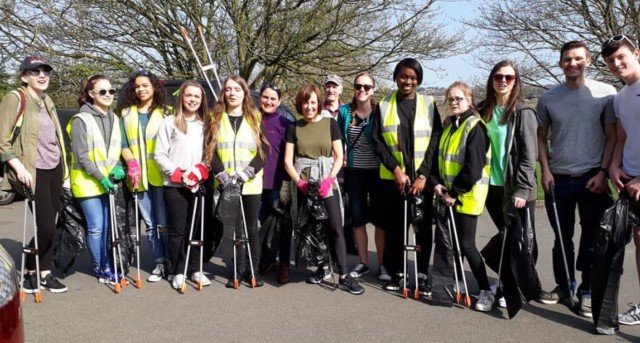 Newlay: Community group hosts another successful litter pick