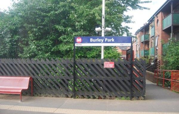 burley park station