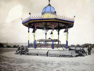 Armley Park bandstand