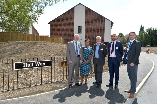 Disabled-friendly housing opens in Bramley