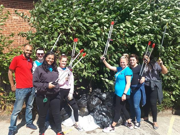west leeds rufc volunteers clean up 2