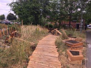 new wortley sensory garden