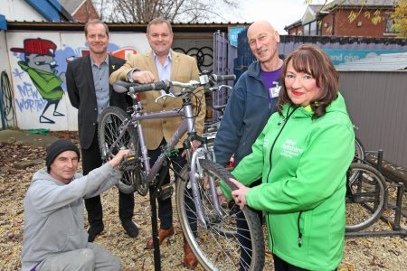New wortley community centre bike library
