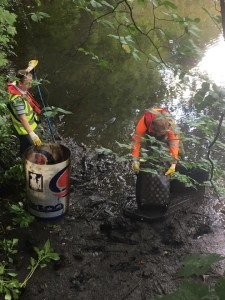 kirkstall river aire cleanup