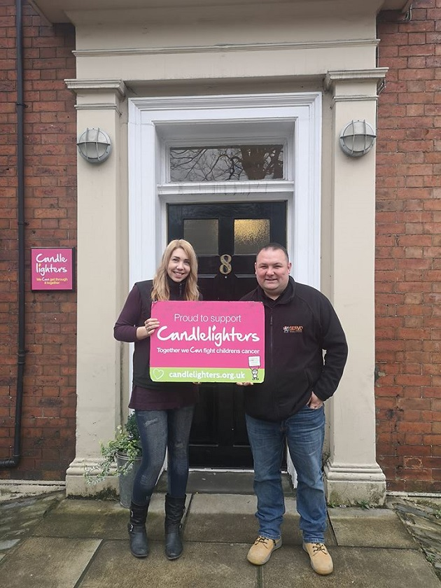 Help West Leeds fundraisers raise Candlelighters cash
