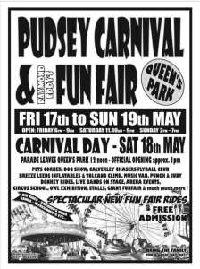 pudsey carnival 2019 poster