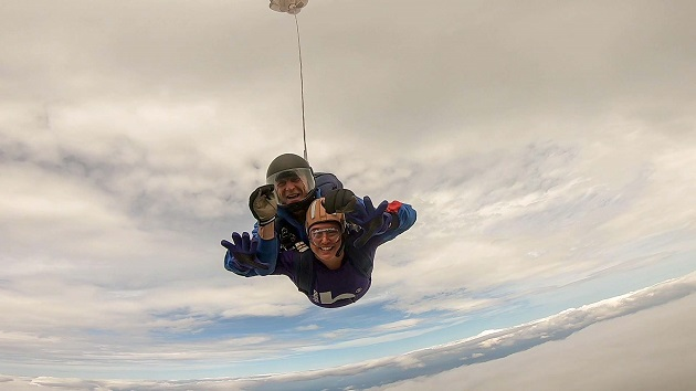 Armley skydiver says thanks charity with daring fundraiser