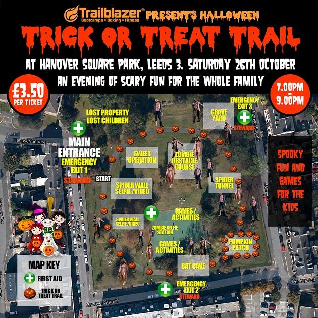 Trailblazer Trick or Treat Trail