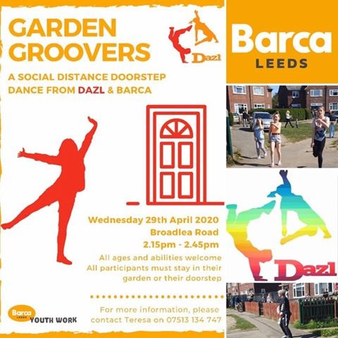 How the 'garden groovers' could come to a West Leeds street near you during lockdown