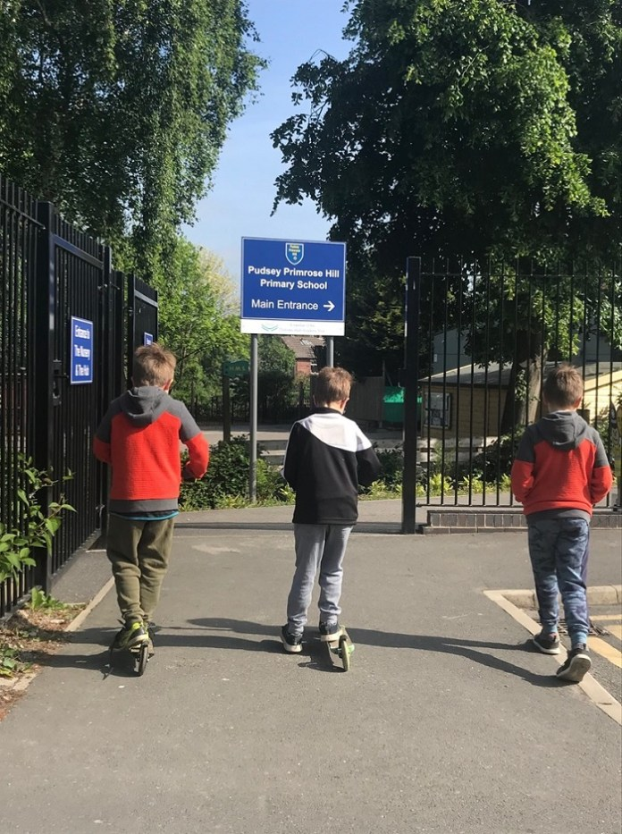 Pudsey primary head welcomes 'safety ring' School Street scheme