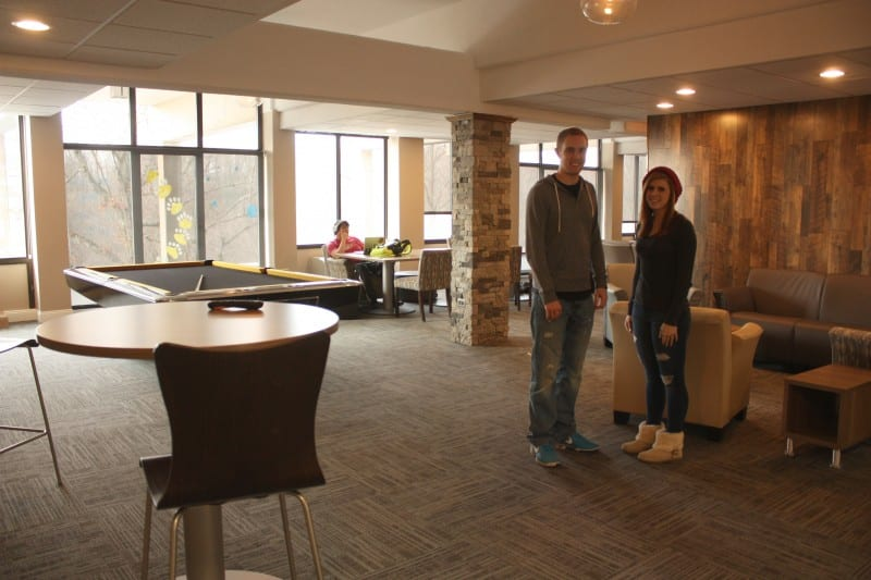 Lounge Improvements Add to Student Experience  News