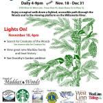 Spotlight on Member Event: Lighting of Maddox Woods