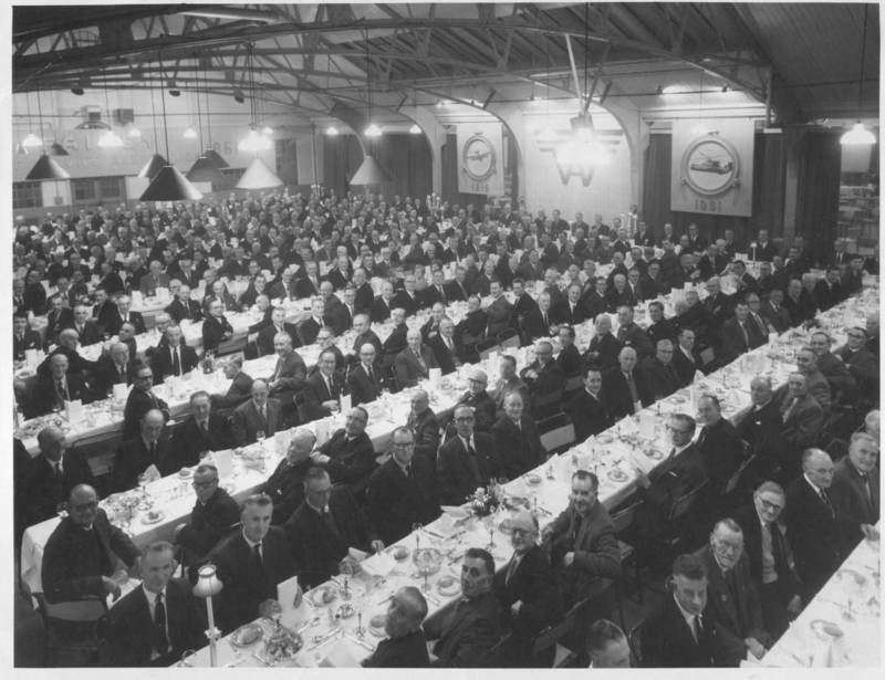 Fairey Aviation Staff Dinner 1961 West London Photo