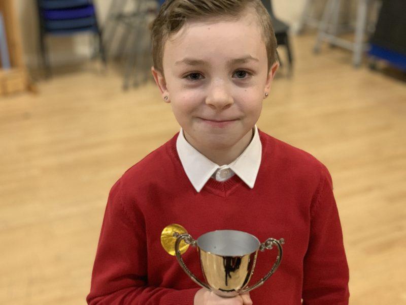 Headteacher's Superstar Award Winners