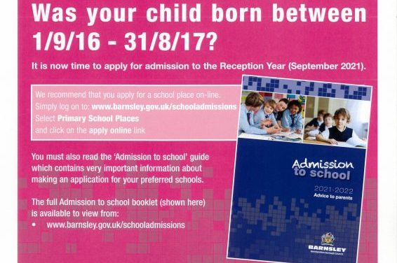 Notice to Parents – EYFS 2