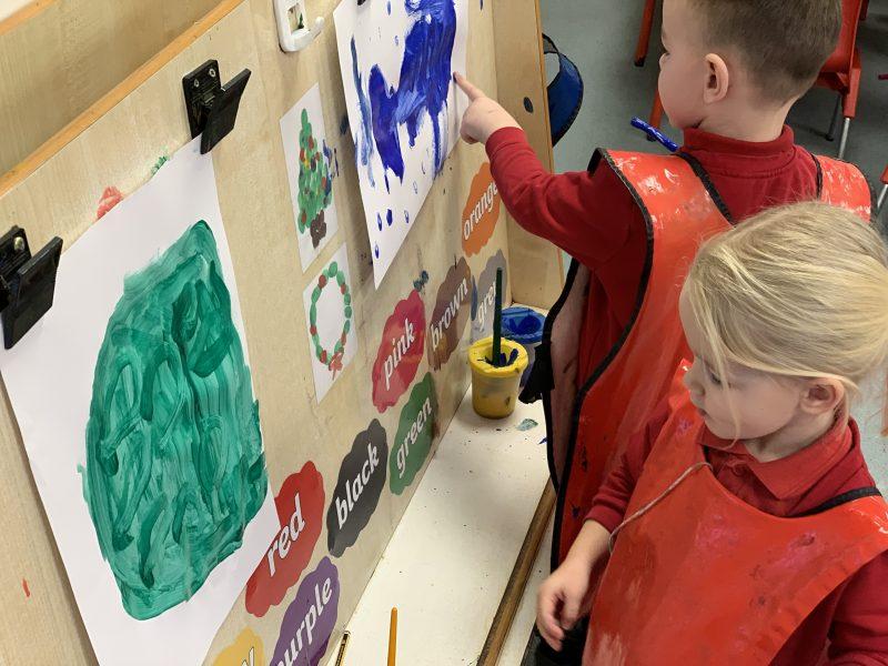 Artists in EYFS 1
