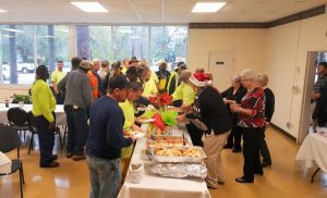 Community Appreciation Luncheon, Westover residents