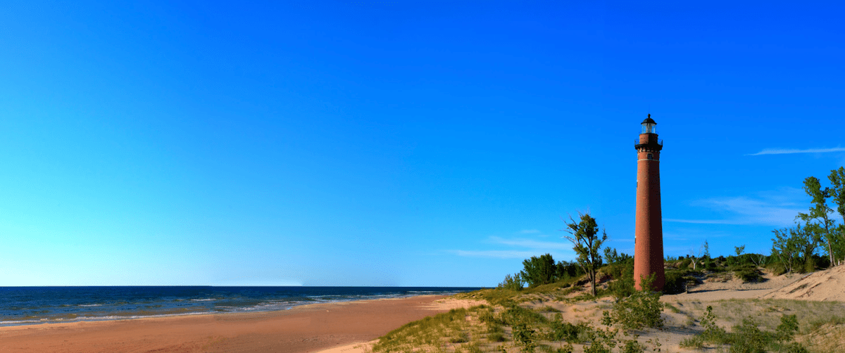 Little Sable Lighthouse by Silver Lake, MI
