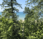 View of Lake Michigan at Ridge Road