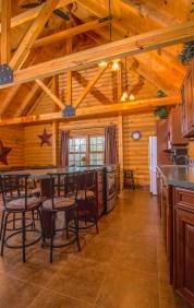 Great Room Kitchen Pentwater Michigan Cabin