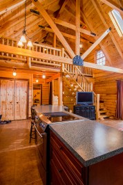 Great Room Loft Pentwater Michigan Rental