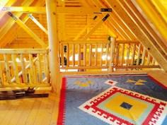 Pentwater MI Vcation rental cabin new beams
