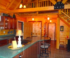 Pentwater Michigan Vacation Rental Kitchen and Entry