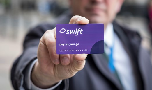 Concessionary Travel Passes now include Swift Pay As You Go