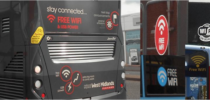 Free Wi-Fi on buses