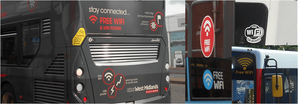Free Wi-Fi on buses