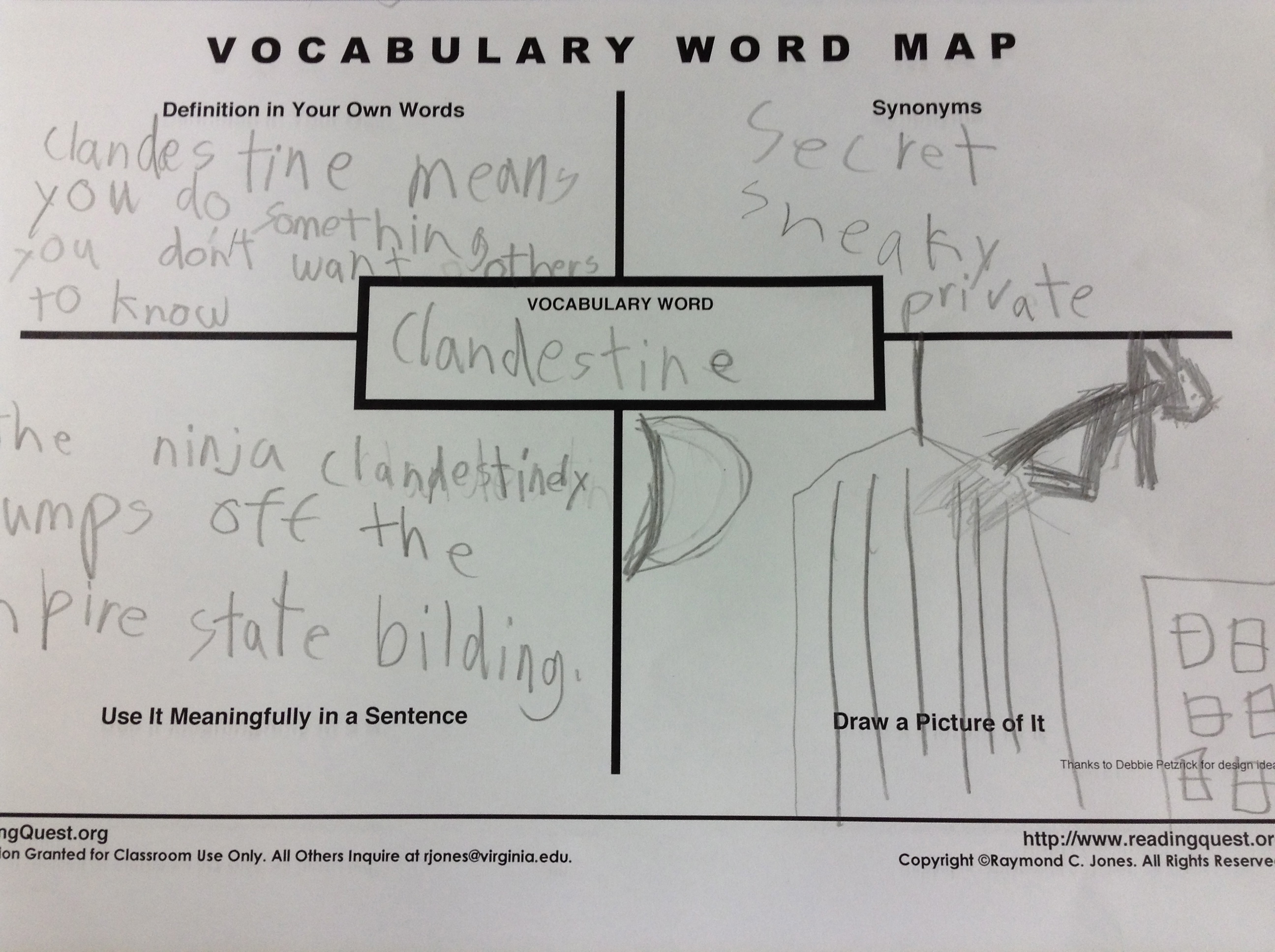 Deep Vocabulary And Word Maps