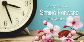 Image result for spring time change 2018