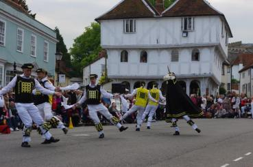 Thaxted main street 2013