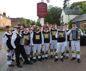 The team in Ilmington in 2012