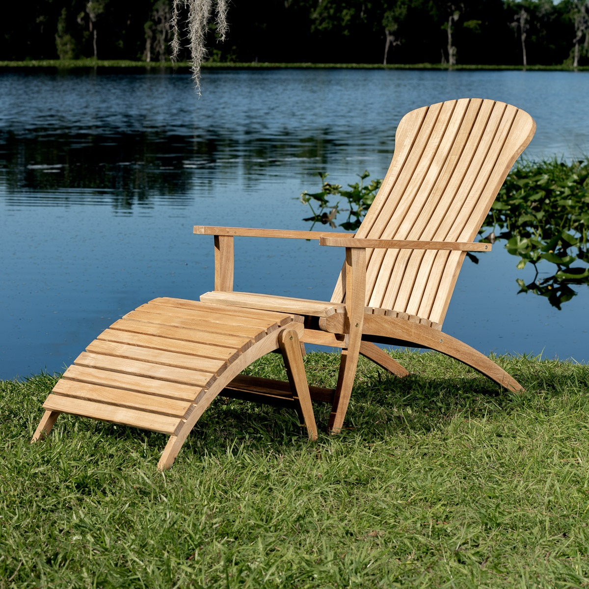 Adirondack Chair Set Adirondack Chair With Footrest