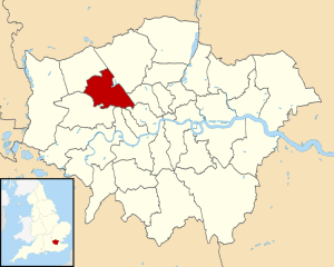 Brent North, London Photo Credit: By Greater London UK district map (blank)