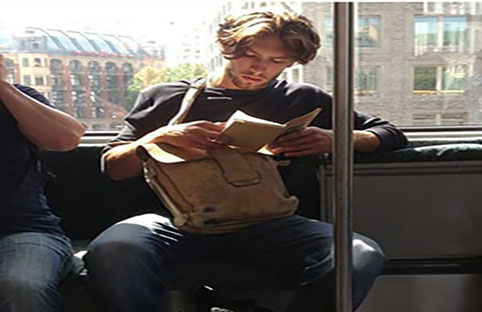Instagram #HotDudesReading: Objectifying men or women's natural instinct?