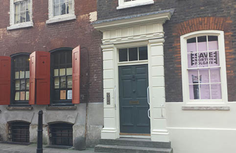 Save Norton Folgate exhibition calls for the protection of period buildings
