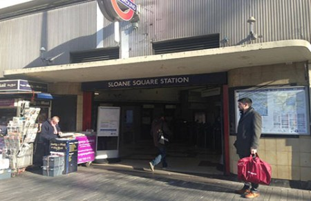 Sloan Square Station. Photo: Shirly Bumaguin