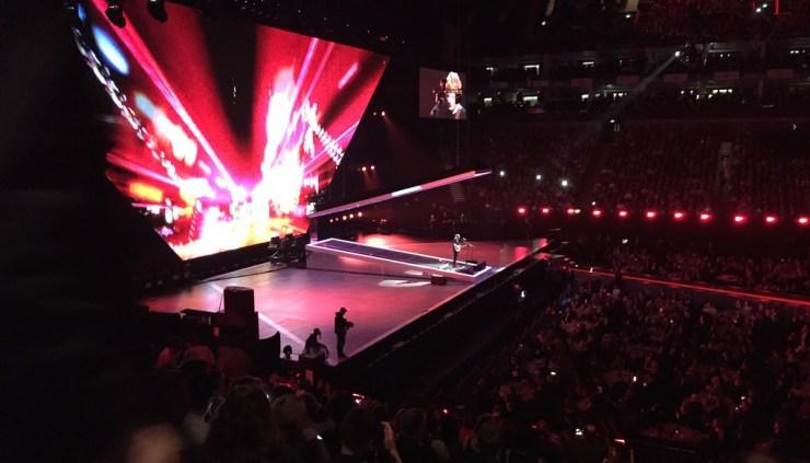Ed Sheeran's performance at the Brit Awards 2015. Photo: Creative Commons License: www.flickr.com, David Jones