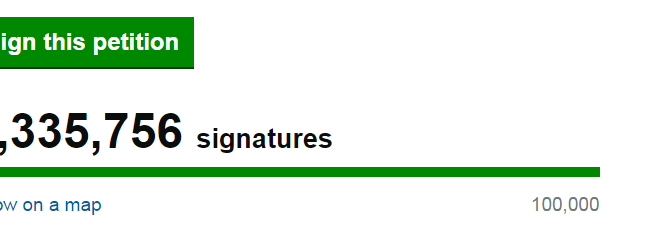 Power to the People: Do petitions really work?