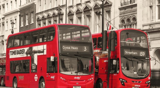 Today, London Buses to be powered by coffee grounds
