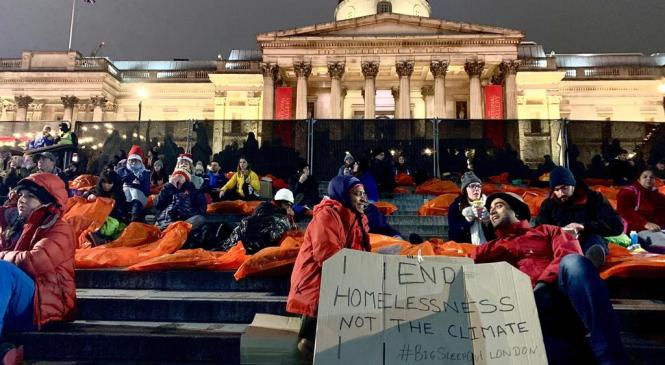 Sleep outs vs homelessness in the UK: are charities helpful enough?