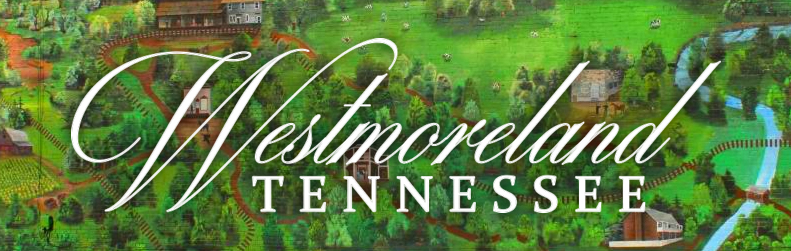 Westmoreland Tennessee Logo on Mural