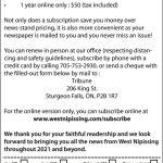 subscription form english