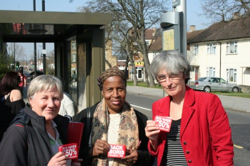Labour party campaigners