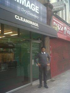 Pankaj outside Cleanimage